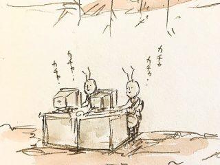 ラッキーな働きアリとアンラッキーな働きアリの日常がわかりみアリすぎる!