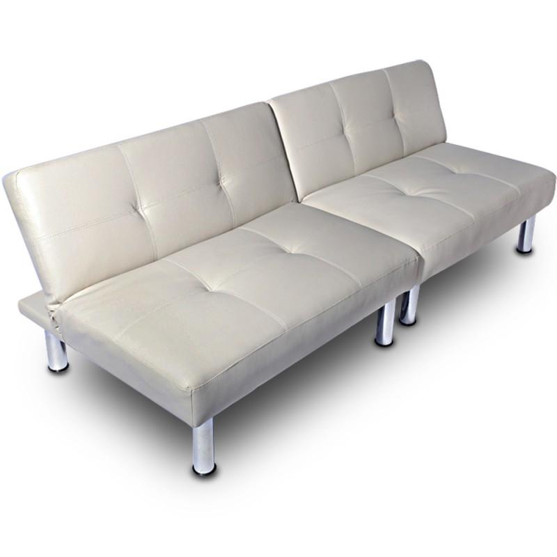 Divan Lit Cuir Comfy Leather Sofa Bed Canap Lit En Cuir