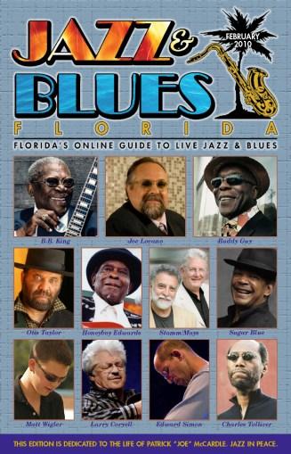 Jazz & Blues Florida February 2010 Edition