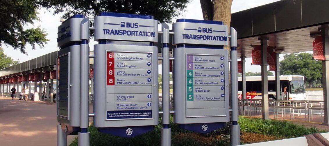 Map Epcot Center Theme Park