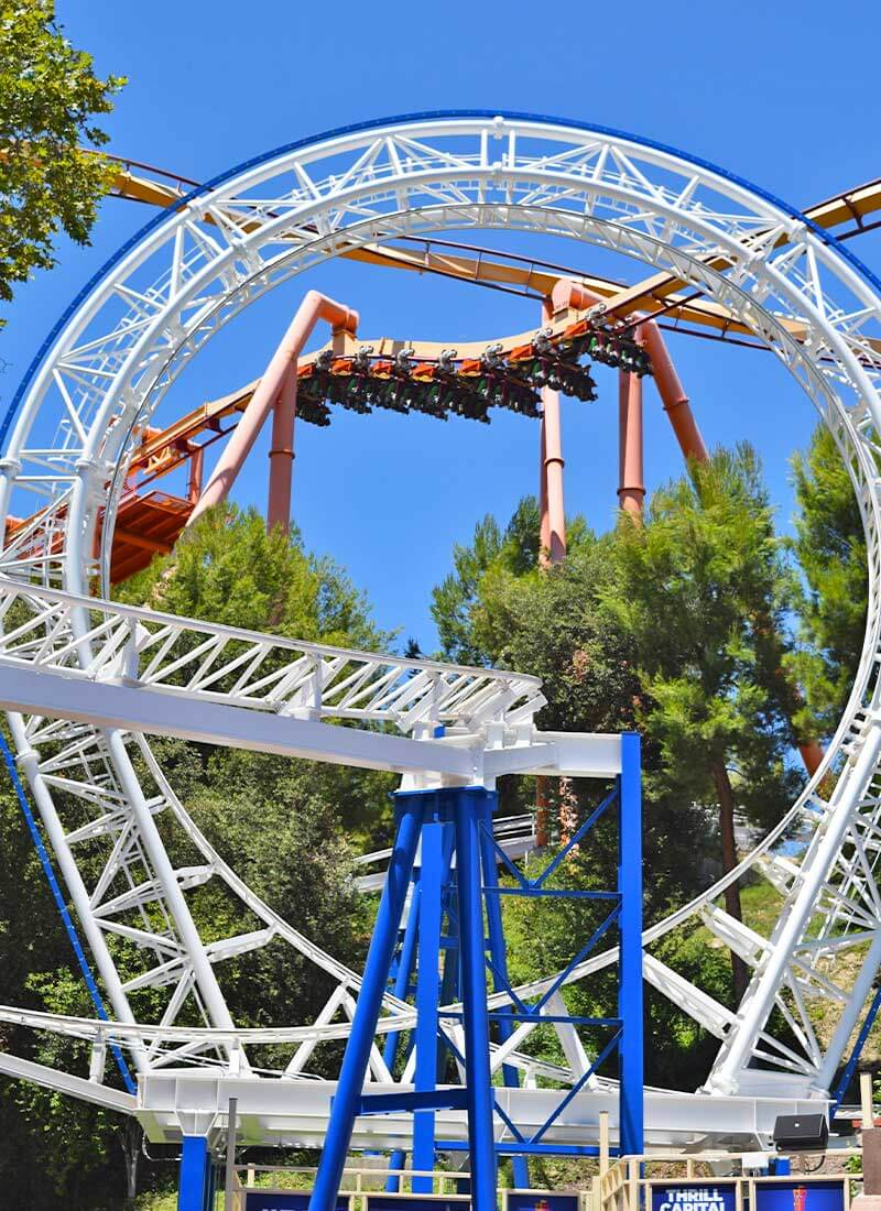 Check out their website for times and pricing. Six Flags Magic Mountain Reopening And Here S What To Expect
