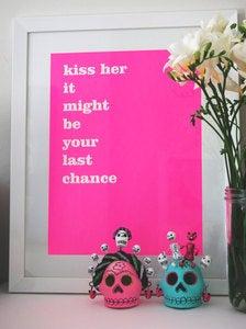 """Kiss Her"" Print"