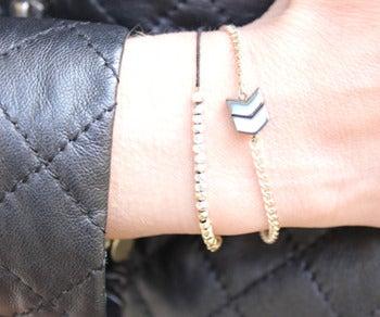 Les Jumelles Bracelet -Bracelet fantaisie