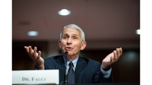 Dr. Fauci: The new strain of coronavirus is susceptible to vaccines