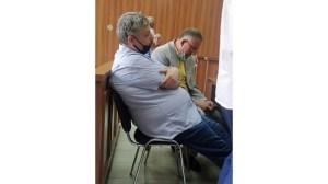 Гаф с веществени доказателства по делото на д-р Иван Димитров, който стреля по Плъха (снимка)