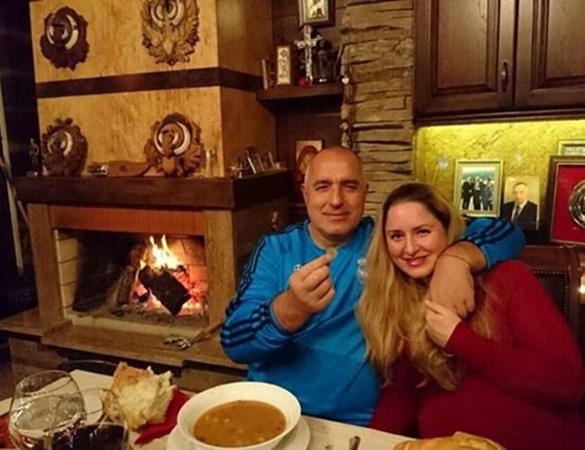 Бойко Борисов с дъщерята Венета.