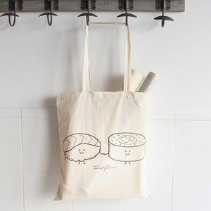 "Image of Bolsa de tela ""Sushis"""
