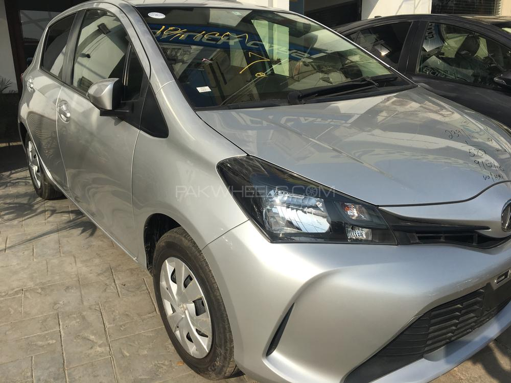 Used Toyota Vitz For Sale At Good Luck Cars Karachi
