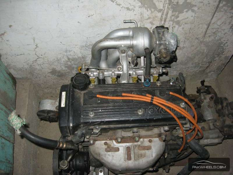 Toyota 5efe Complete Motor For Sale Exchange Possible