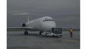 Двигателят на самолет на European Air Charter в Италия не експлодира, той повиши температурата.