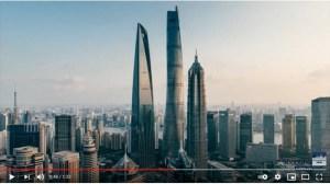 Гледката от 632 м предлага най-високия хотел в света в Шанхай, който отвори врати днес (Видео)