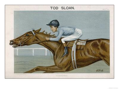Vanity Fair caricature of Tod Sloan