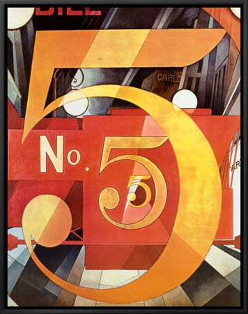 The Figure 5 in Gold, Charles Demuth