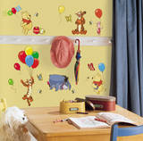 Image Of Winnie The Pooh Wall Stickers For Nursery