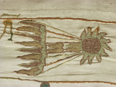 Image result for bayeux tapestry halley's comet scene