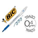Boligrafo Bic Cristal Grip azul 0,4 mm