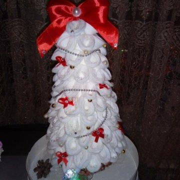 Новогодняя поделка Снеговик в санях с подарками – купить в ...