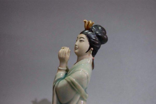 Фарфоровая статуэтка девушка старый Китай – купить в Санкт ...