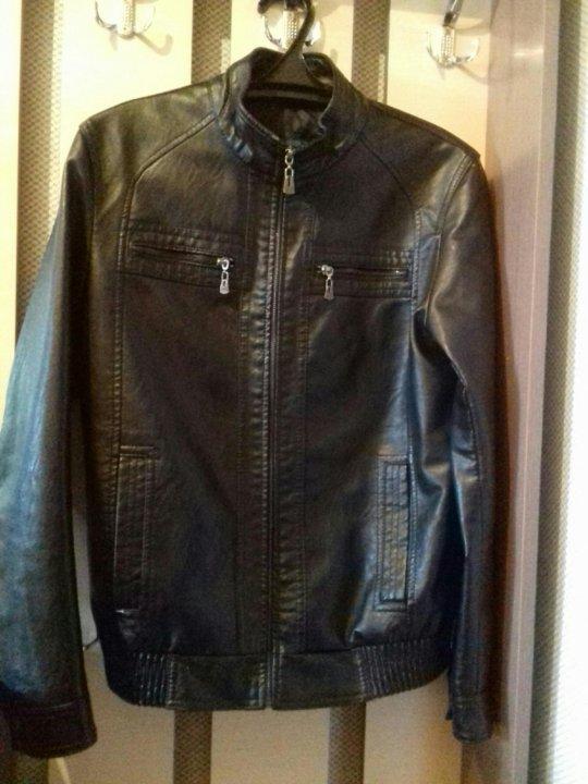 Продам мужскую кожаную куртку. – купить в Томске, цена 2 ...
