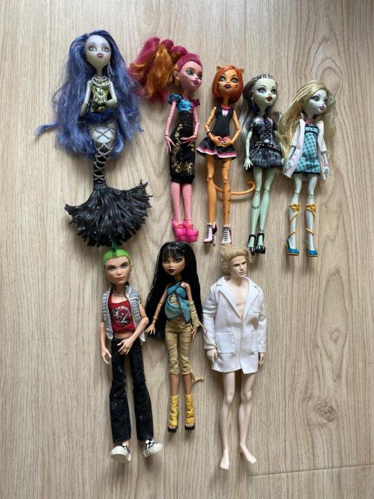 Куклы монстр хай пакетом – купить в Мытищах, цена 9 500 ...