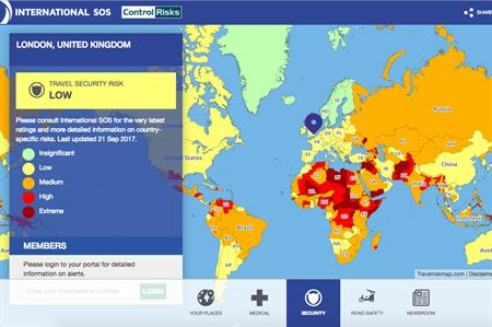 world s riskiest destinations revealed by new interactive map c it