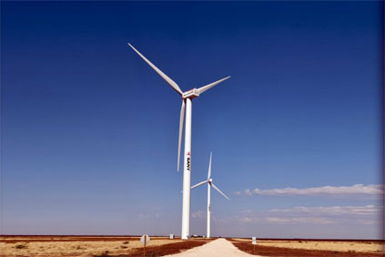 China s Sany Electric completes first US wind project   Windpower     The Ralls project uses Sany Electric wind turbines