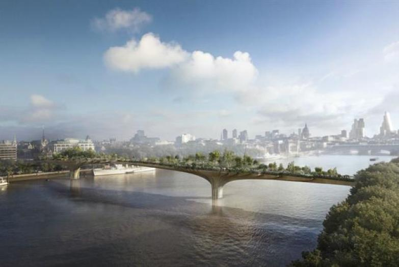 Ab-fabulous London Garden Bridge but at what cost to cross the Thames?