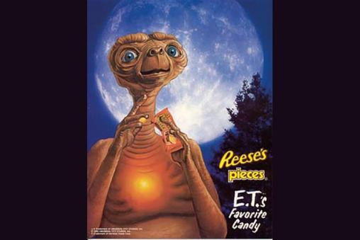 Image result for et and reese's pieces