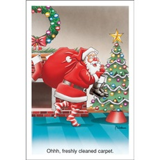 Carpet Steam Cleaning Christmas Cards Paul Oxman Publishing
