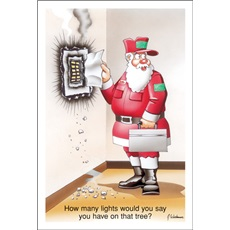 Electrical Christmas Cards Paul Oxman Publishing