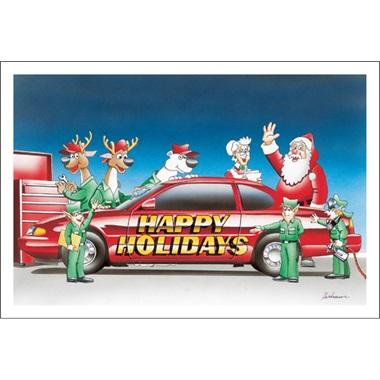 Happy Holidays Auto Body Repair Paul Oxman Publishing