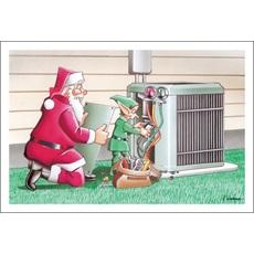 HVAC Christmas Cards Paul Oxman Publishing