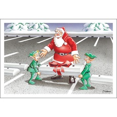 Parking Lot Maintenance Christmas Cards Paul Oxman