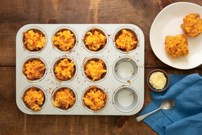 Mac-Three-Cheese-Muffins