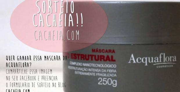 Sorteio Máscara de R Acquaflora