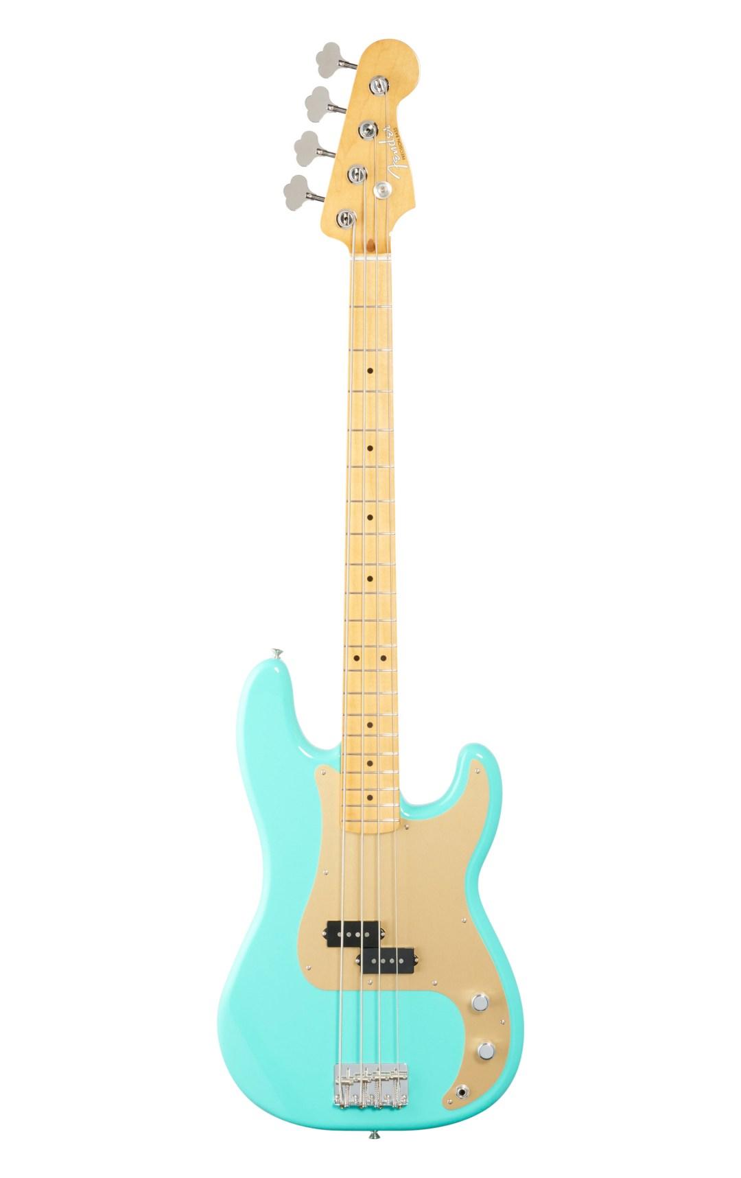 Fender Vintera 50s Prec Bass MN Sea Foam Green WB