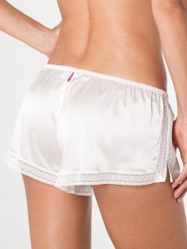 Charmed Ivory Silk Shorts