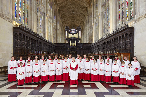 World Renowned Choir of King's College Visits USU