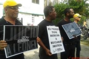 El padre Mario Serrano y otros ciudadanos reclaman juicio A leonel Fernandez