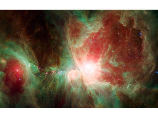 La Nasa publica espectacular imagen de la Nebulosa de Orión