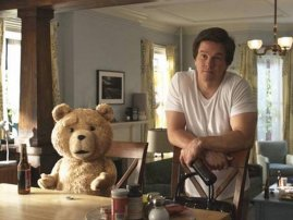 El comediante Seth MacFarlane, creador de ´Ted´ y designado anfitrión de los premios de la Academia el 24 de febrero, llevará a su famoso oso de peluche.