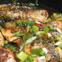 Cách làm Cá kho dưa cải