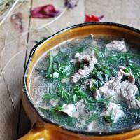 Cách nấu Canh thịt Bò với lá Lốt