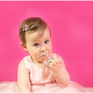 {Photographe de bebe Monaco} Kirsten, 1 an, smash the cake!