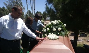 burial at cemetery