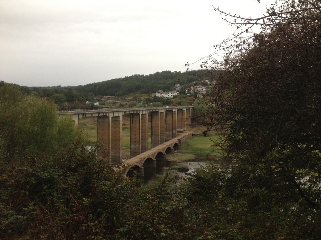 high bridge on the Camino de Santiago
