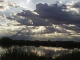 sun setting at TLR