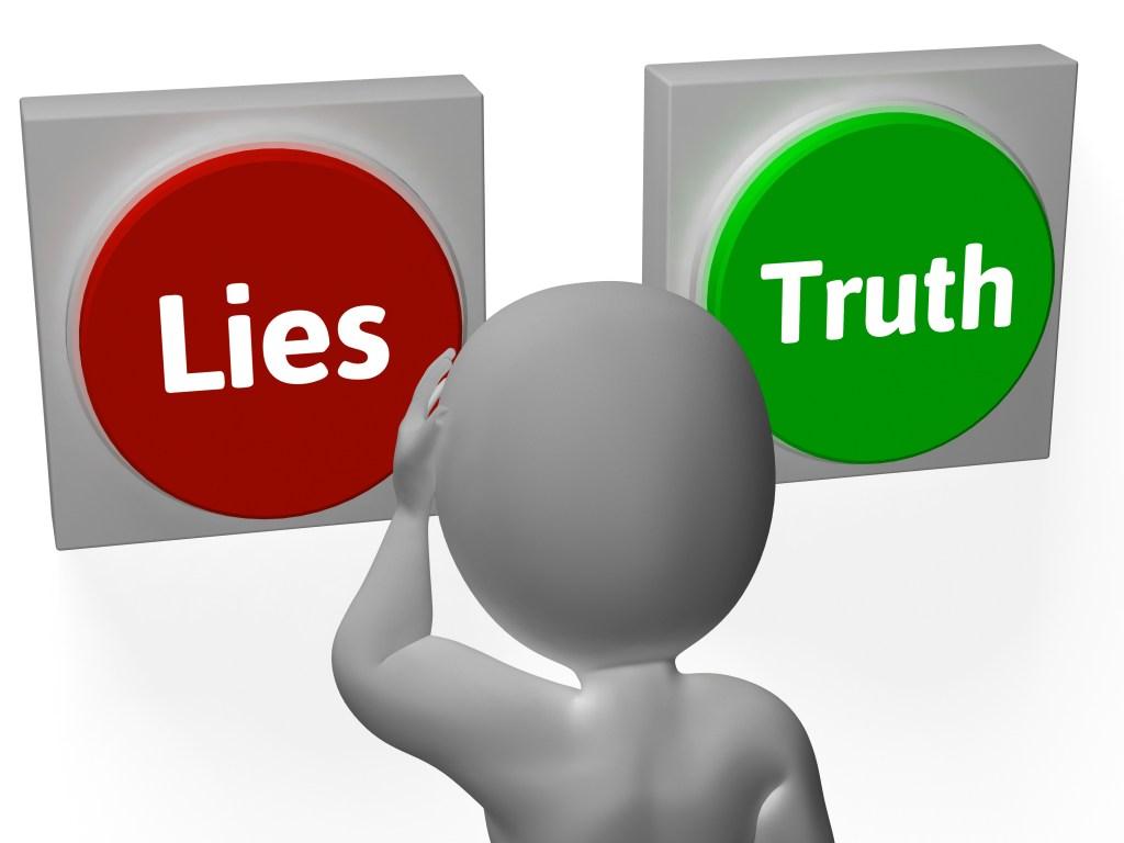 Lies Truth Buttons