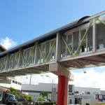 Passerelle pietonne Galeria Martinique