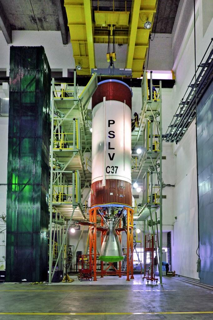 PSLV-C37 courtesy- ISRO